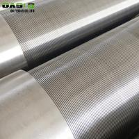Wholesale Continuous Slot Wire Wrapped Johnson Water Well Screens Pipe from china suppliers