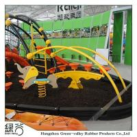 China Playground rubber flooring series Rubber Mulch, Pigment Rubber Mulch on sale