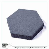 Buy cheap Hexagon Rubber Tiles for Outdoor Walkway Pathway Playground from wholesalers