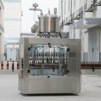 Buy cheap Chemical Linear Time Control Gravity Liquid Filling Machine from wholesalers