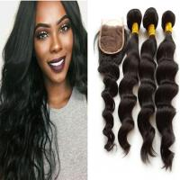 Buy cheap SJCS-004 Lace closure 4x4-loose wave from wholesalers