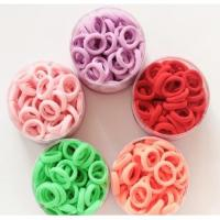 Buy cheap Candy-colored Small Hair Rope No Trace Basic Rubber Band for kids from wholesalers