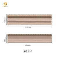 Buy cheap Wooden Timber Acoustic Panel G8-3-8 from wholesalers