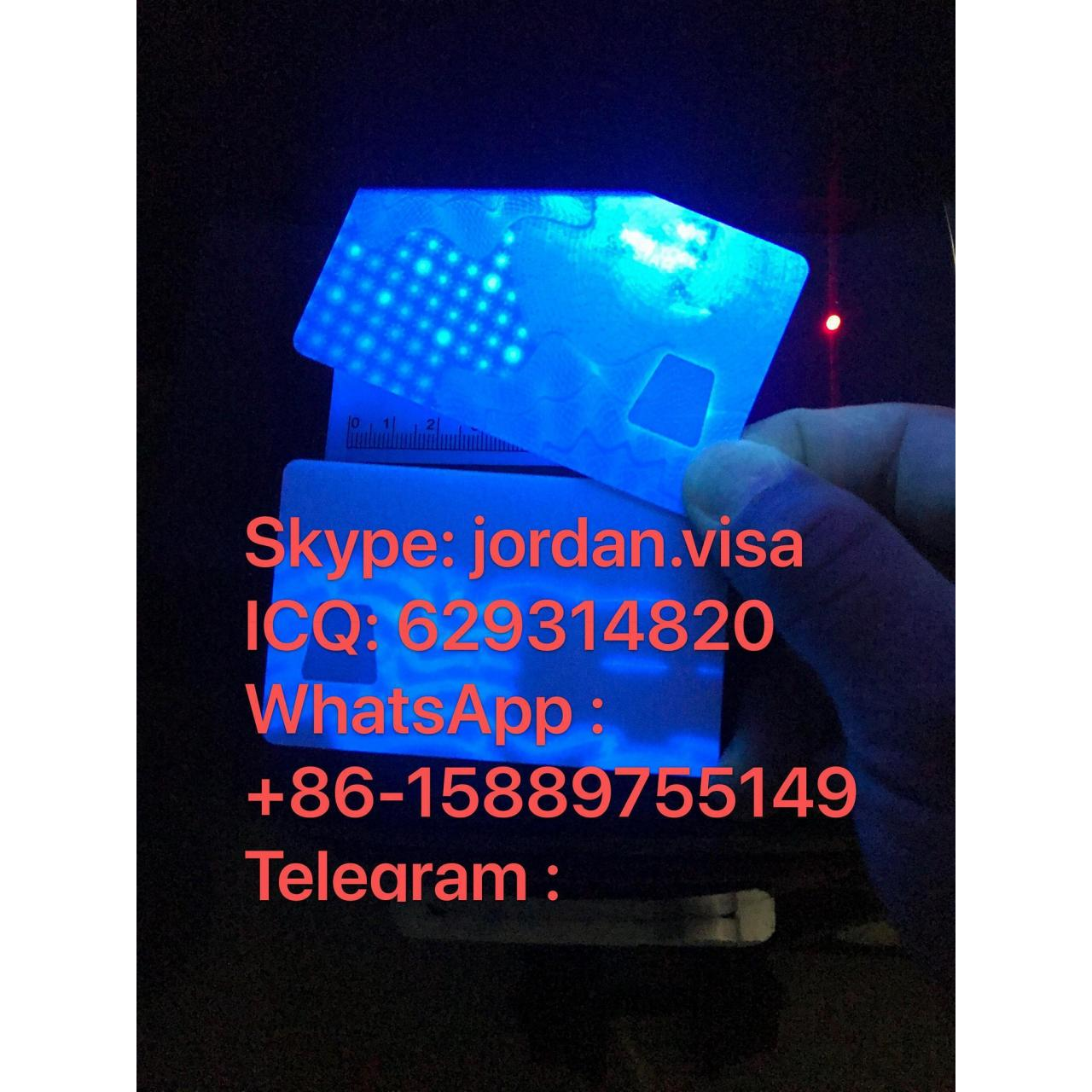 Buy cheap USA New York Card with UV Light & window from wholesalers