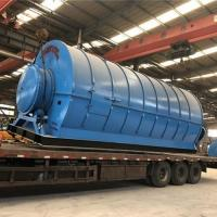 Buy cheap Pyrolysis Plant Turning Plastic Into Oil from wholesalers