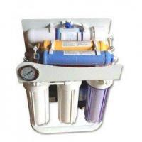Buy cheap 6 stage RO water filter with pressure gauge and frame from wholesalers
