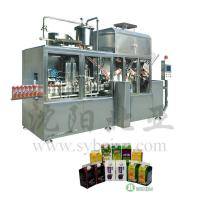 Buy cheap Milk Beverage Gable Top Carton Packing Machine from wholesalers