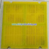Buy cheap Polyurethane Screen Panels & PU Sieve Media & Urethane Mesh ( Mats , Deck , Bend , Plate , Sheet ) from wholesalers