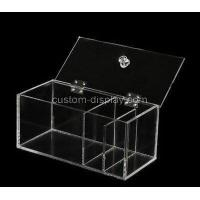 Buy cheap Acrylic clear storage boxes with lids CSA-873 from wholesalers