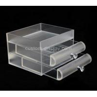 Buy cheap Acrylic 3 drawer box CSA-866 from wholesalers