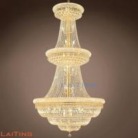 Buy cheap Luxury Large crystal chandeliers for Hotel Lobby from wholesalers