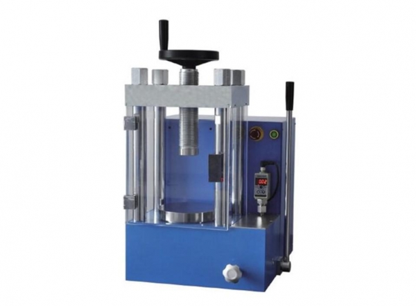 Buy cheap 60 ton laboratory electric hydraulic press for battery researching from wholesalers