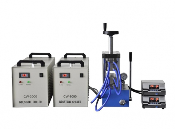 Buy cheap PCH-600CG 500 degree laboratory heating press from wholesalers