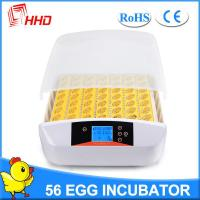 Buy cheap HHD newest model full automatic turning 56 eggs incubator from wholesalers