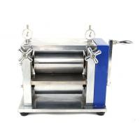 Wholesale Manual Lab Roller Press Calendering Machine for Lithium ion Battery Electrode from china suppliers