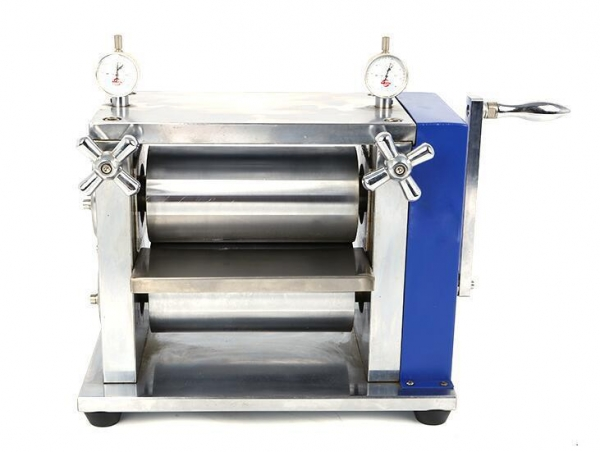 Quality Manual Lab Roller Press Calendering Machine for Lithium ion Battery Electrode for sale