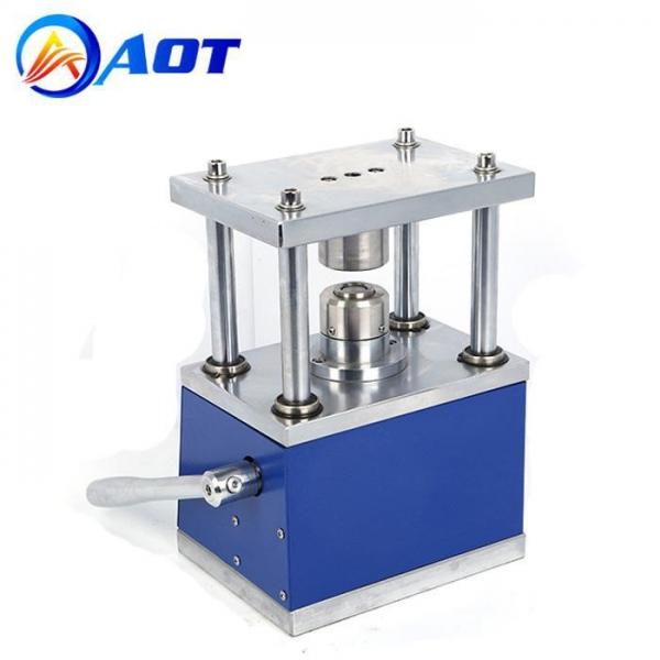 Buy cheap Manual Coin Cell Crimper Machine Tool for Lab CR20XX Button Battery Crimping from wholesalers