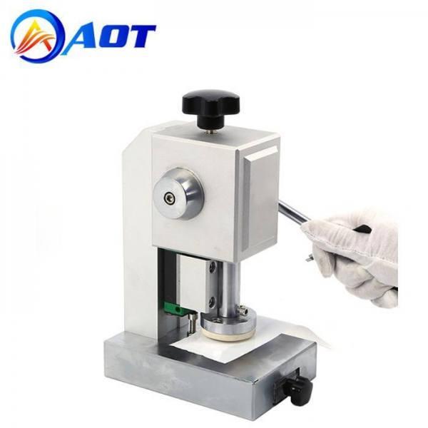 Buy cheap Precision CR20XX Coin Cell Disc Cutter Machine for Battery Separator Round Discs Cutting from wholesalers
