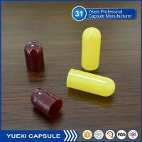 Buy cheap Maroon/Yellow Empty Gelatin Capsule for Medical product