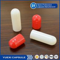 Buy cheap Medical Canned Red/White Empty Capsule product
