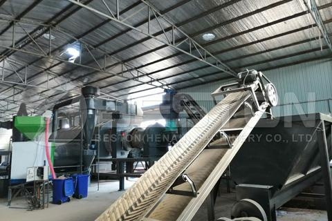 Buy cheap Palm Kernel Shell Charcoal Making Machine from wholesalers