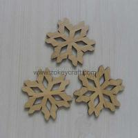 Wholesale Bamboo Snowflake Ornaments ZWO3358 from china suppliers