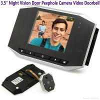 Buy cheap 3.5 LCD Night Vision Door Peephole Camera Doorbell Video Recorder Home Security from wholesalers