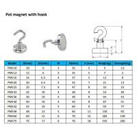 Buy cheap D32mm Magnetic Hook from wholesalers