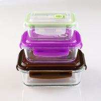 Wholesale Glass Lunch Storage Container With Lid from china suppliers
