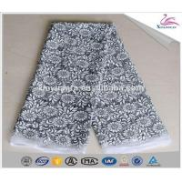 Wholesale New Fashion Top Embroidered Mesh Fabric from china suppliers