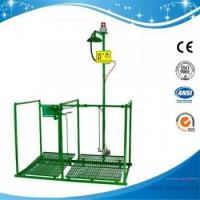 Buy cheap SHD200SG-Pedaled safety shower & eyewash station with alram & signal systerm,SS304/G.I. from wholesalers