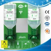 Buy cheap SH4694-eye wash solution,Plum eyewash Solution Station with 2 bottles from wholesalers