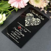 Wholesale Perspex wedding invitation from china suppliers