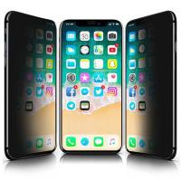 Buy cheap iPhone X/XS/11 Pro 3D privacy Tempered Glass from wholesalers