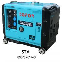 Buy cheap TP8500STA 190F POWER 6.5KW 7KW Super Silent Diesel Generator from wholesalers