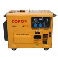 Buy cheap TP8500DGS 190F 7KW Silent Diesel Generator from wholesalers