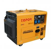Buy cheap TP9500DGS 192F POWER 8KW Silent Diesel Generator from wholesalers
