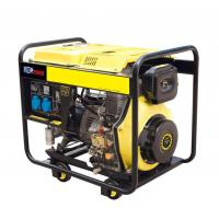 Buy cheap TP8500DG 190F POWER Open Type Recoil Or Electric Starter 6.5KW 7KW Diesel Generator from wholesalers