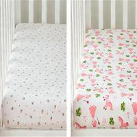 Buy cheap 100% Cotton Yarn Dyed Waterproof Printed Baby Changing Pad Cover from wholesalers