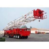 Buy cheap ZJ30DB/1700CZ(XJ750) Frequency conversion truck-mounted workover rig from wholesalers