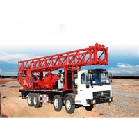 Buy cheap SPCC-1000m truck mounted water well rotary drilling rig from wholesalers