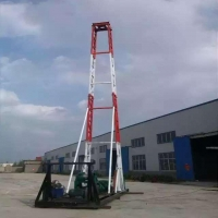 Buy cheap 300 meters trailer mounted water well drilling rig from wholesalers