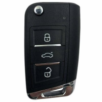 Buy cheap XEMQB1EN Xhorse Super Remote Key MQB Style 3 Buttons Built-in Super Chip from wholesalers