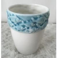 Buy cheap Wholesale Top Quality Blue Ceramic Flower Vase from wholesalers
