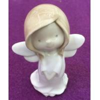 Buy cheap Pretty Ceramic Child Fairy Sculpture For Decoration from wholesalers