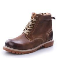 Buy cheap Boots 2016 fashion thick toe and rubber sole men combat boots from wholesalers