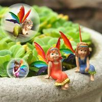 Buy cheap craft and craft Resin Mini Little Fairy Figurine from wholesalers