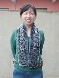 Buy cheap Knitted REX Rabbit Scarf ,Stole ,Cape, Muffler , Shawl,Poncho from wholesalers