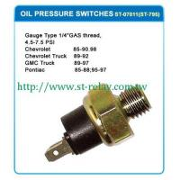 Wholesale OIL PRESSURE SWITCHES OIL PRESSURE SWITCHES from china suppliers