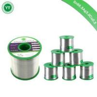 Buy cheap YunFang Tin Rohs Lead Free Solder Wire Sn96.5Ag3Cu0.5 with Rosin Core for Electrical Soldering from wholesalers